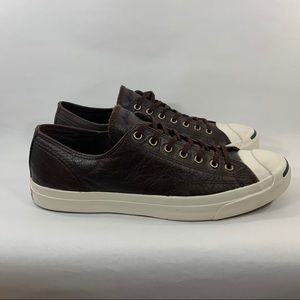 Converse Men's Jack Percell. Brown Leather. 11.5